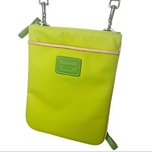 Coach Lemon Lime Hamptons Collection Crossbody